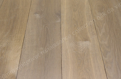220mm Renaissance Oak Da Vinci Smoked, Distressed, Planed, White Oil Wax
